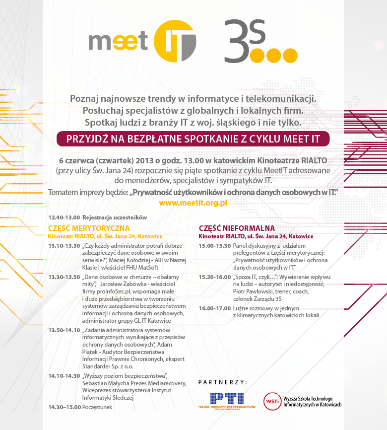 Zapraszamy na Meet IT vol. 5